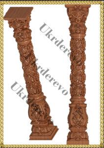 125 Столб декоративный