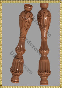 74 Столб декоративный_SR00001